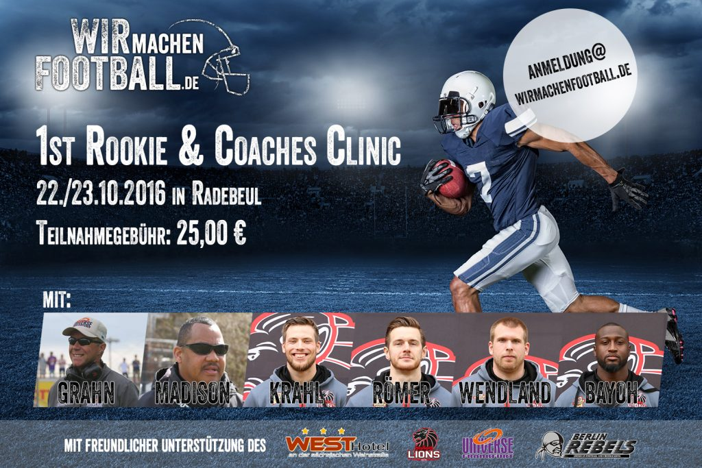 1st rookie & coaches clinic